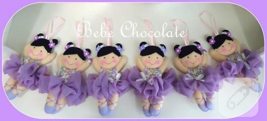 keçe balerin bebekler
