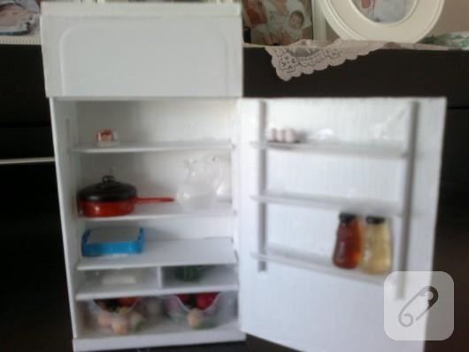 Minyatür buzdolabı