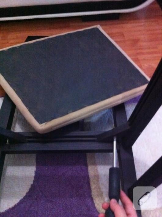 sandalye kaplama