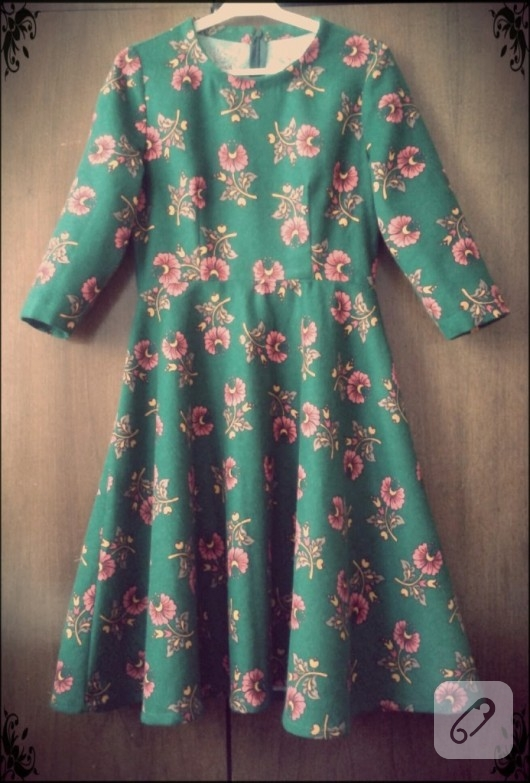 Pazen elbise