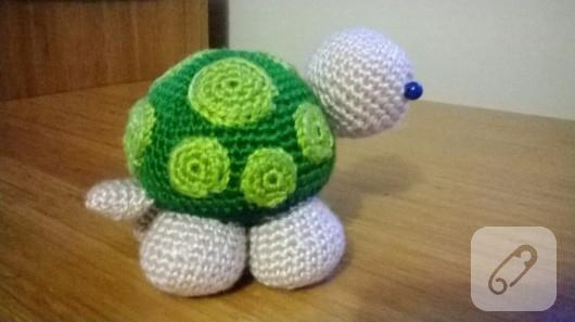 Amigurumi kaplumbağa