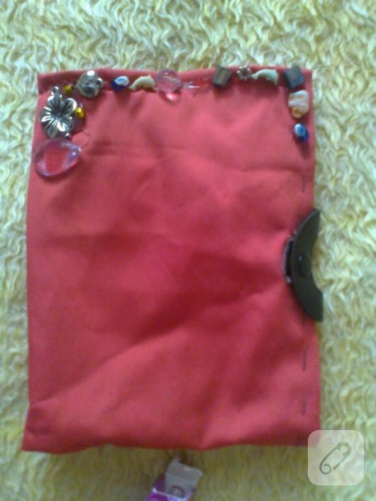 kumaş makyaj çantası