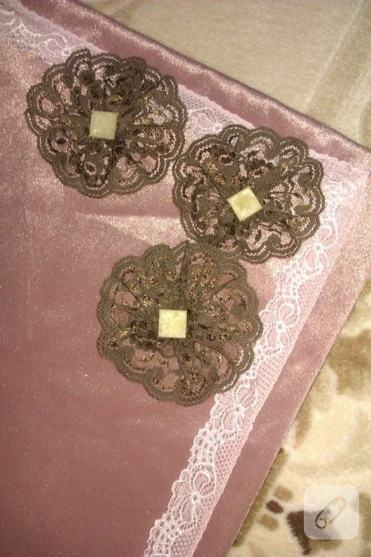 Kadife çiçekli paspas