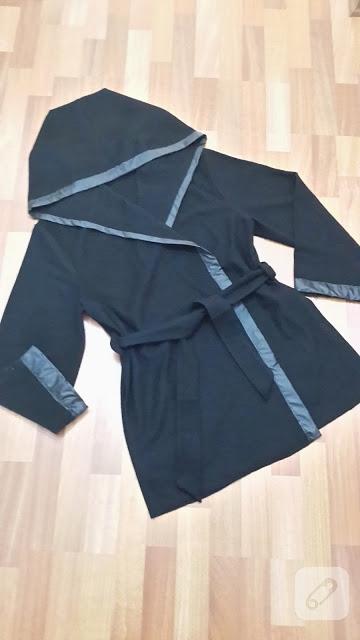 Kapşonlu ceket modeli