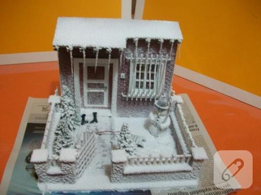 minyatür ev yapımı