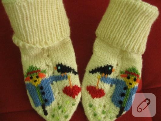 çorap işleme