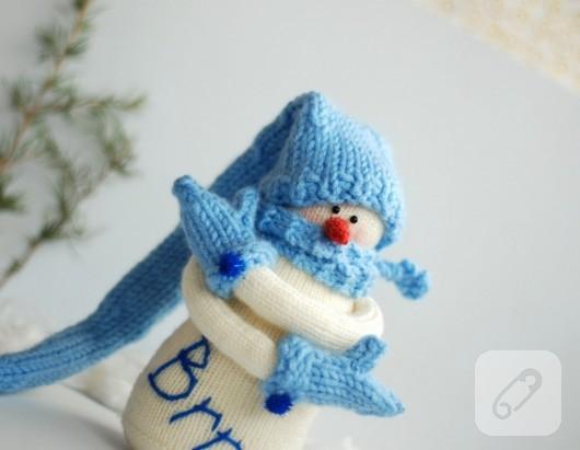 Örgü kardan adam
