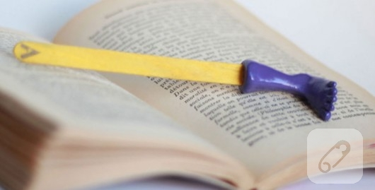 Fimodan kitap ayraçları