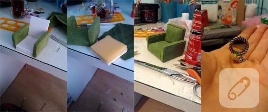 minyatür ev ve nine yapımı