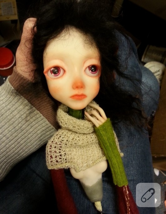 fimo art doll bebek yapımı
