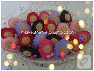 keçe bebek magneti yapımı