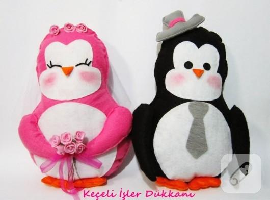 penguen yastıklar