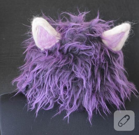 Kedi kulaklı şapka