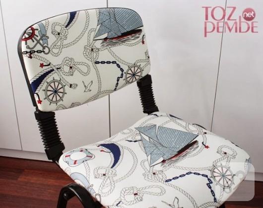 Kumaş kaplama sandalye