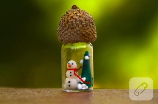 Minyatür kar küresi yapımı
