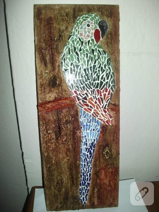 Mozaik papağan