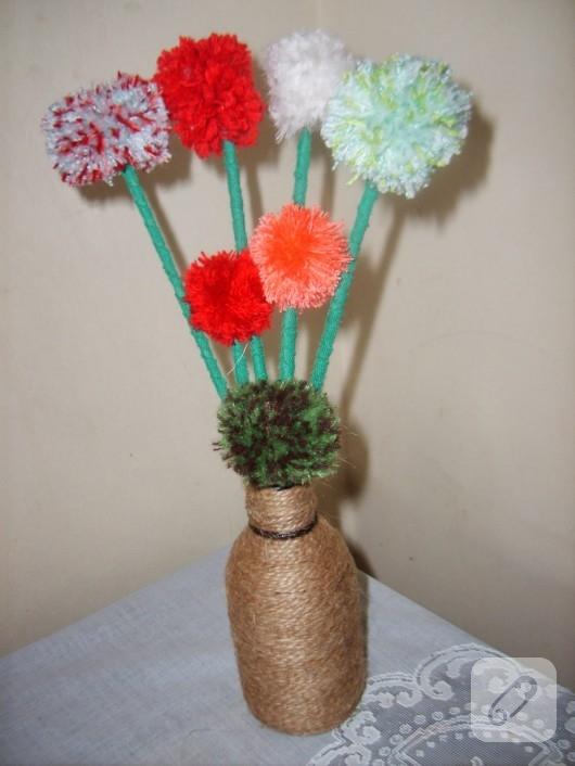 Ponpon çiçekler