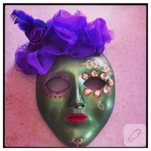 Seramik Maske Süsleme 10marifetorg