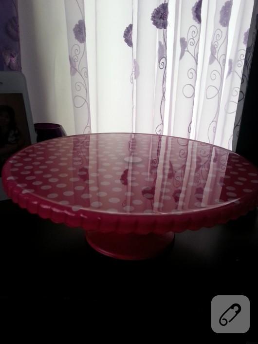cam boyama kek standı