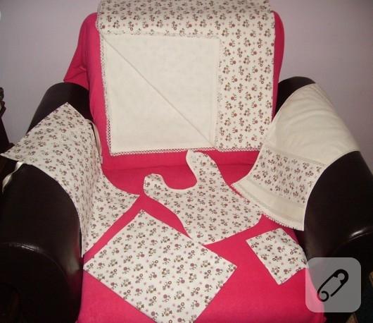 kumaş battaniye takımı