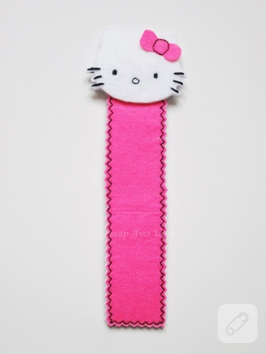 Hello Kitty kitap ayracı