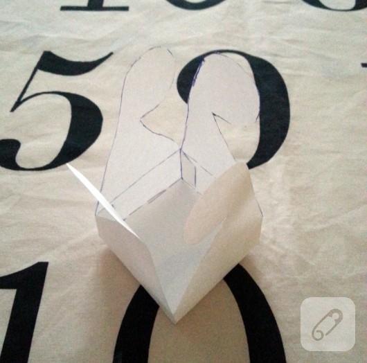 kağıttan pratik kutu yapımı