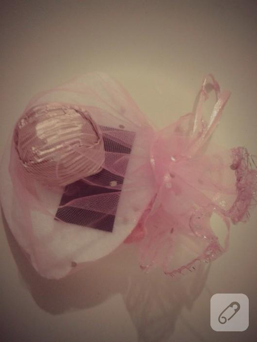 keçeden bebek şekeri yapımı