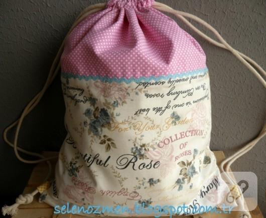 kumaş sırt çantası