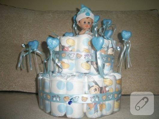 mavili bebek bezi pastası