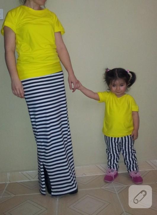 neon sarı tişört