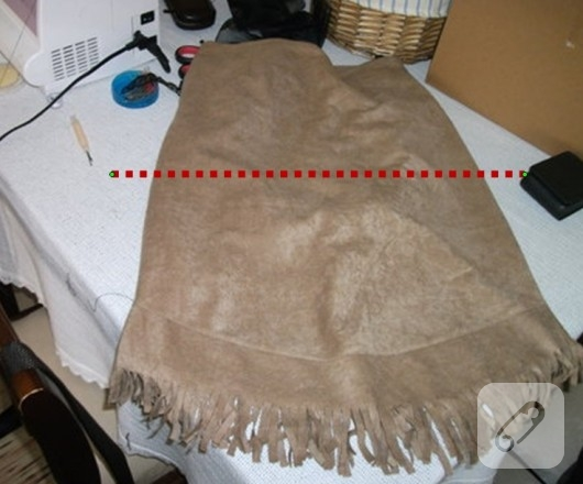 etekten çanta yapımı