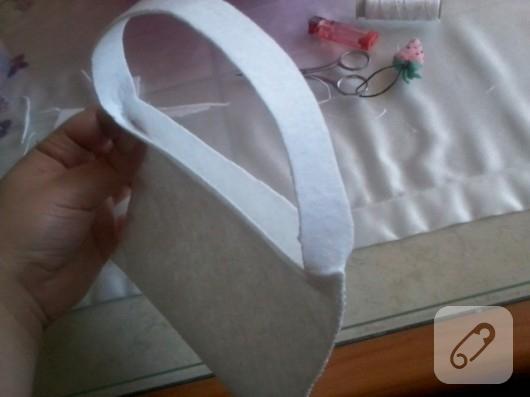 keçe çanta yapımı