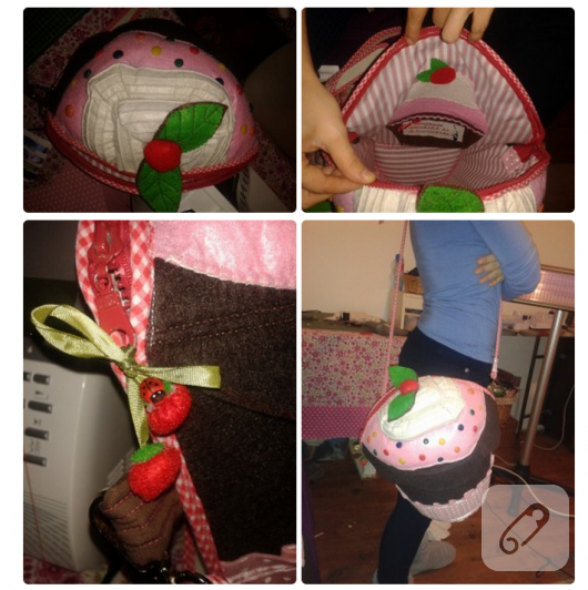 cupcake çanta