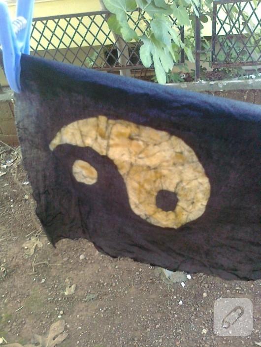 mumlu batik çalışması