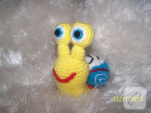 amigurumi-salyangoz-orgu-oyuncaklar