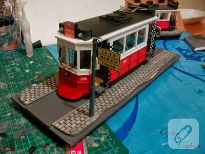 minyatur-tramvay