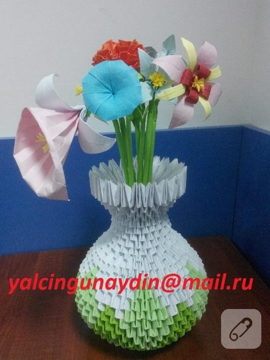 origami-vazo-kagit-cicekler-1