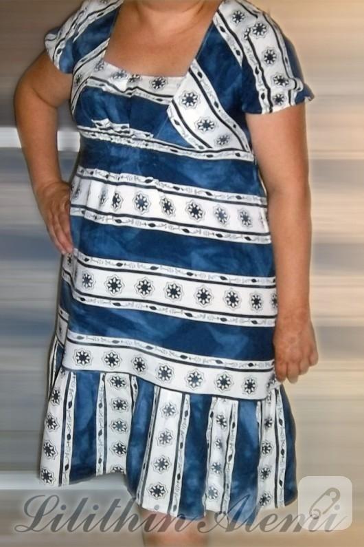kisa-kollu-elbise-modelleri