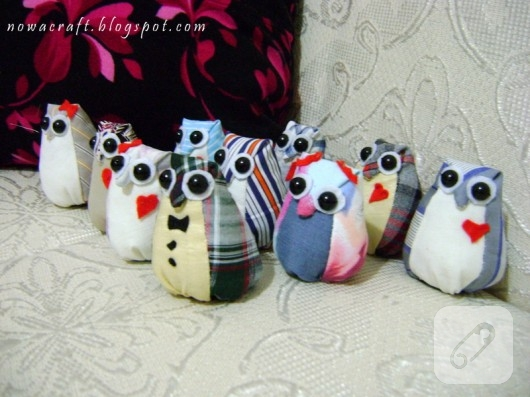 kumas-oyuncak-baykus-modelleri