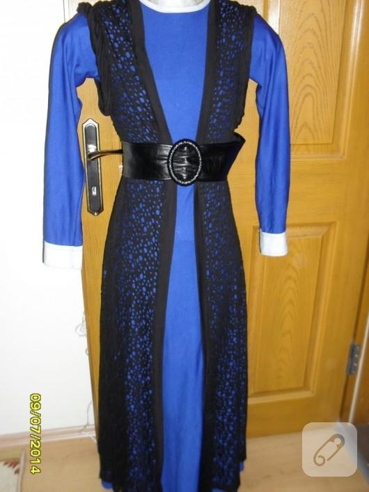 saks-mavisi-uzun-elbise-