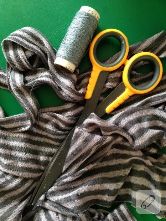 eski-tısortten-bileklik-yapimi-malzemeler