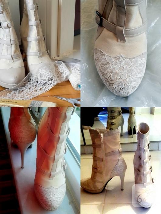 dantelle-ayakkabi-susleme