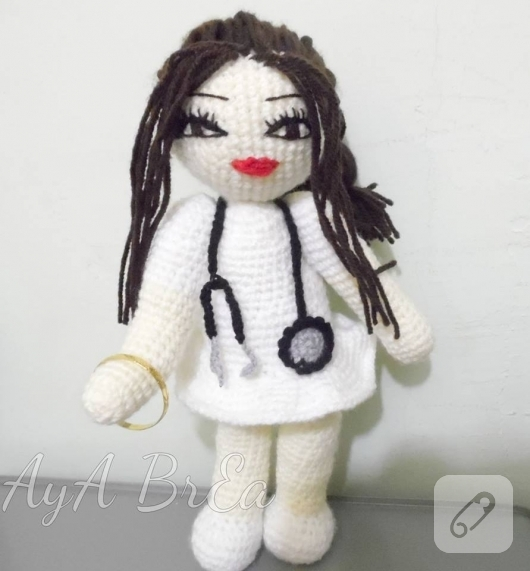 amigurumi-hemsire-bebek-modeli