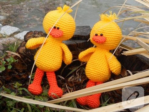 amigurumi-ordek-el-orgusu-oyuncaklar