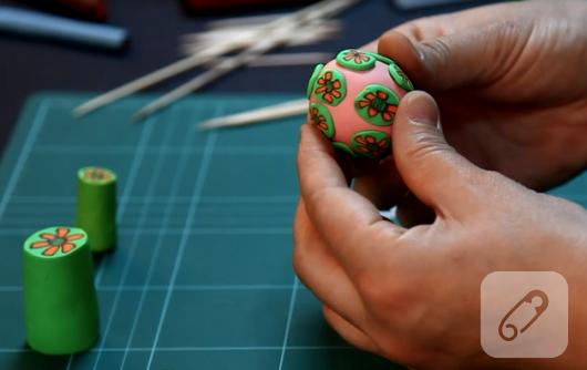 Sculpey-Polimer-kil--Millefiori- yapimi