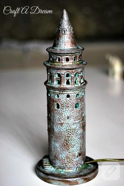 Seramik Boyama Galata Kulesi 10marifetorg