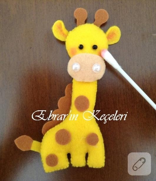 Artikel Zürafa 2 Tuz Boyama Dekorazon