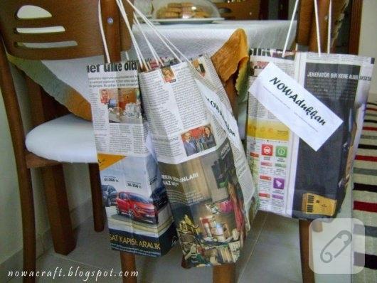 gazete-kagidindan-posetler-geri-donusum-diy-fikirleri