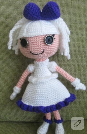 PATTERN: Suzette Crochet Amigurumi Doll | Amigurumi, Oyuncak, Tığ ... | 560x361