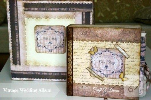 vintage-scrapbook-dugun-albumu